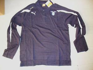 Representación L Manga Larga Marino Polo Azul 25 Puma Lazio 4tqw0xE7x