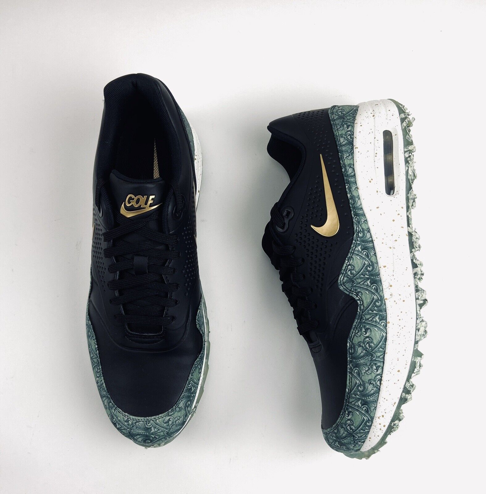 Nike Air Max 1 G Nrg Golf Shoes Payday Paid In Full Money Bq4804 001 Size 10 For Sale Online