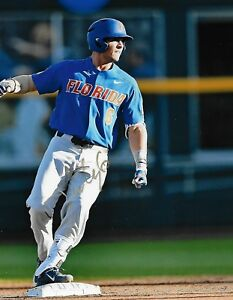 Jonathan India auto/signed Florida Gators Prospect Baseball COA LOOK!