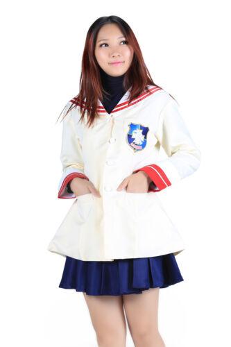 Clannad Cosplay Costume Nagisa Furukawa 3rd Grade School Uniform 1st Version Set