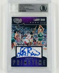 LARRY-BIRD-Autograph-Signed-GALA-Celtics-Jersey-Auto-card-40-BAS-Beckett-BGS