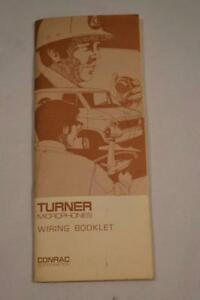 Swell Vintage Turner Microphones Wiring Booklet Ebay Wiring Cloud Oideiuggs Outletorg
