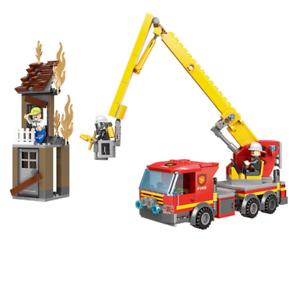 Xingbao-Feuerwehrauto-Spielzeug-Modell-Rettung-Baukaesten-Bausteine-Toys-12set
