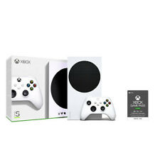 Xbox Series S 512GB SSD Console + Xbox Game Pass Ultimate 3 Month Membership (Em