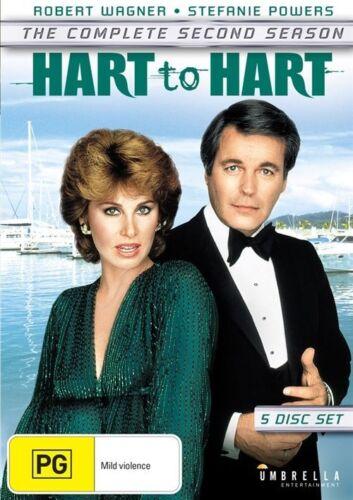 1 of 1 - Hart To Hart : Season 2 (DVD, 2016, 5-Disc Set)