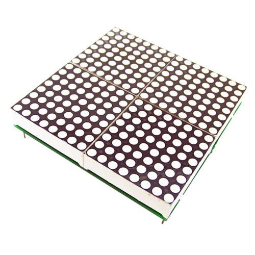 32mm LED Lattice Module 16x16 Dot Matrix Subtitle Text Display 2.4V-5V