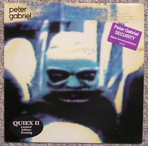PETER-GABRIEL-4-Security-SIGNED-PROMO-Quiex-II-LP-Audiophile-Vinyl-Album-GENESIS
