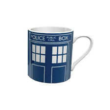 OFFICIAL DOCTOR WHO CLASSIC TARDIS MUG BOXED BBC GREAT GIFT RETRO