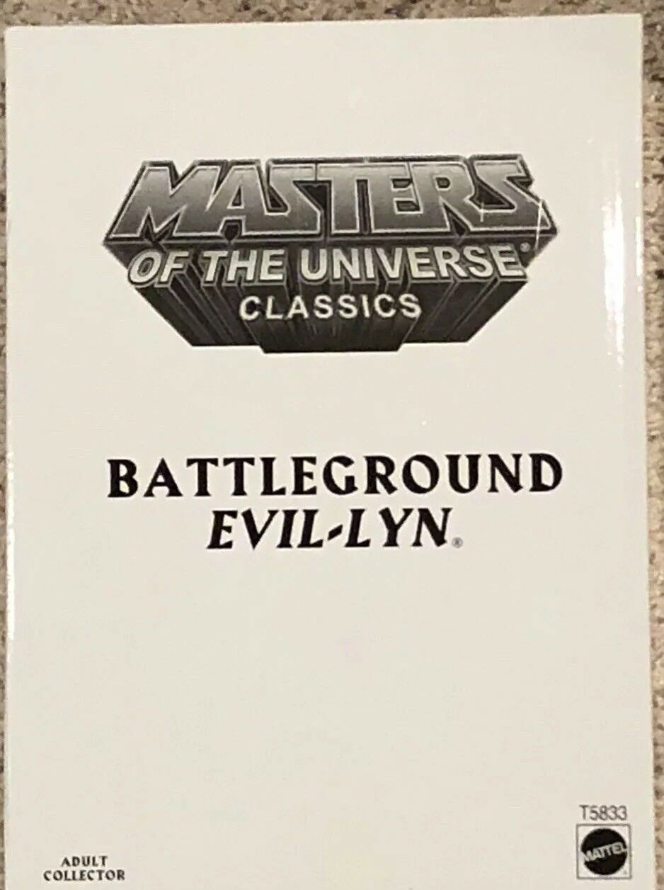 Masters Of the Universe Classics Battleground Evil-Lyn Action Figure MOTUC MOTU