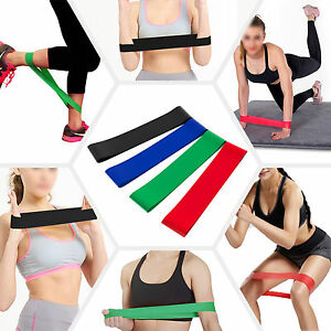 4pcs-Resistance-Loop-Bands-Exercise-Yoga-Bands-Rubber-Fitness-Training-Strength