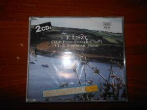Details About Franz Liszt Cd1 Piano Concerto No 1 Cd 2 Symphonic Poems Cd New