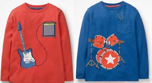 Mini Boden boys top  tshirt 2 3 4 5 6 7 8 9 10 11 12 stripe long sleeve RRP $22