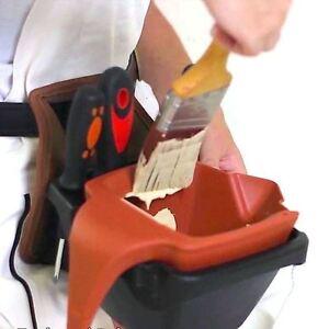 Big Boy Ind. 5210 Paint Bucket Holder w/Removable 1 Quart Dripless Paint Pail