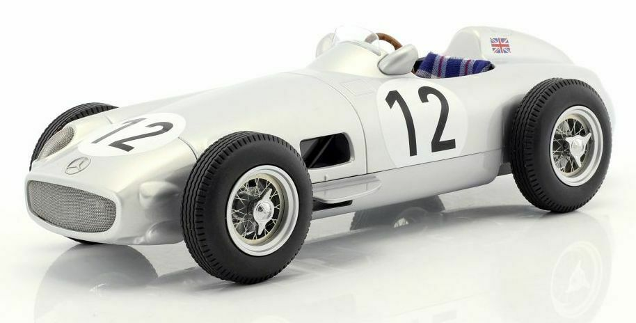 IScale 1 18 MERCEDES-BENZ W196 12 Formule 1 Stirling Moss Winner British GP 1955