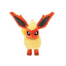 New Pokemon Pocket Monster Flareon Plush Toys Soft Stuffed Doll Gift 20cm