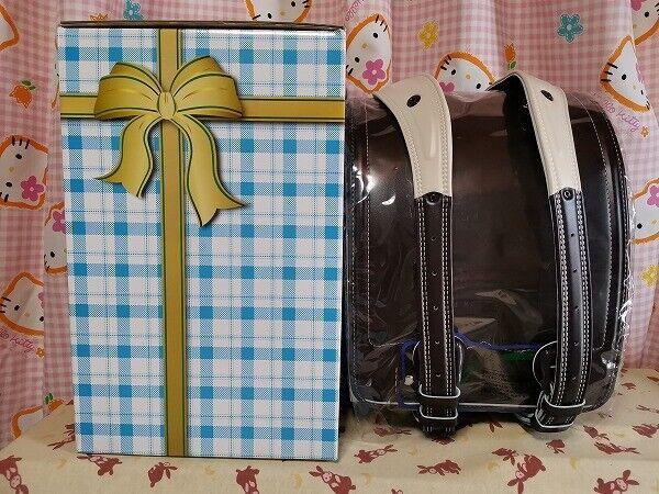 ^_^Japanese Randoseru School Bag. Dark Brown. ANgel of Wing Randoseru. New!