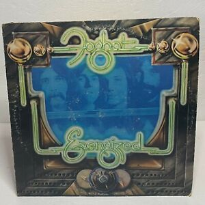Foghat ‎– Energized: Bearsville 1974 Vinyl LP Album (Hard Rock / Blues Rock)
