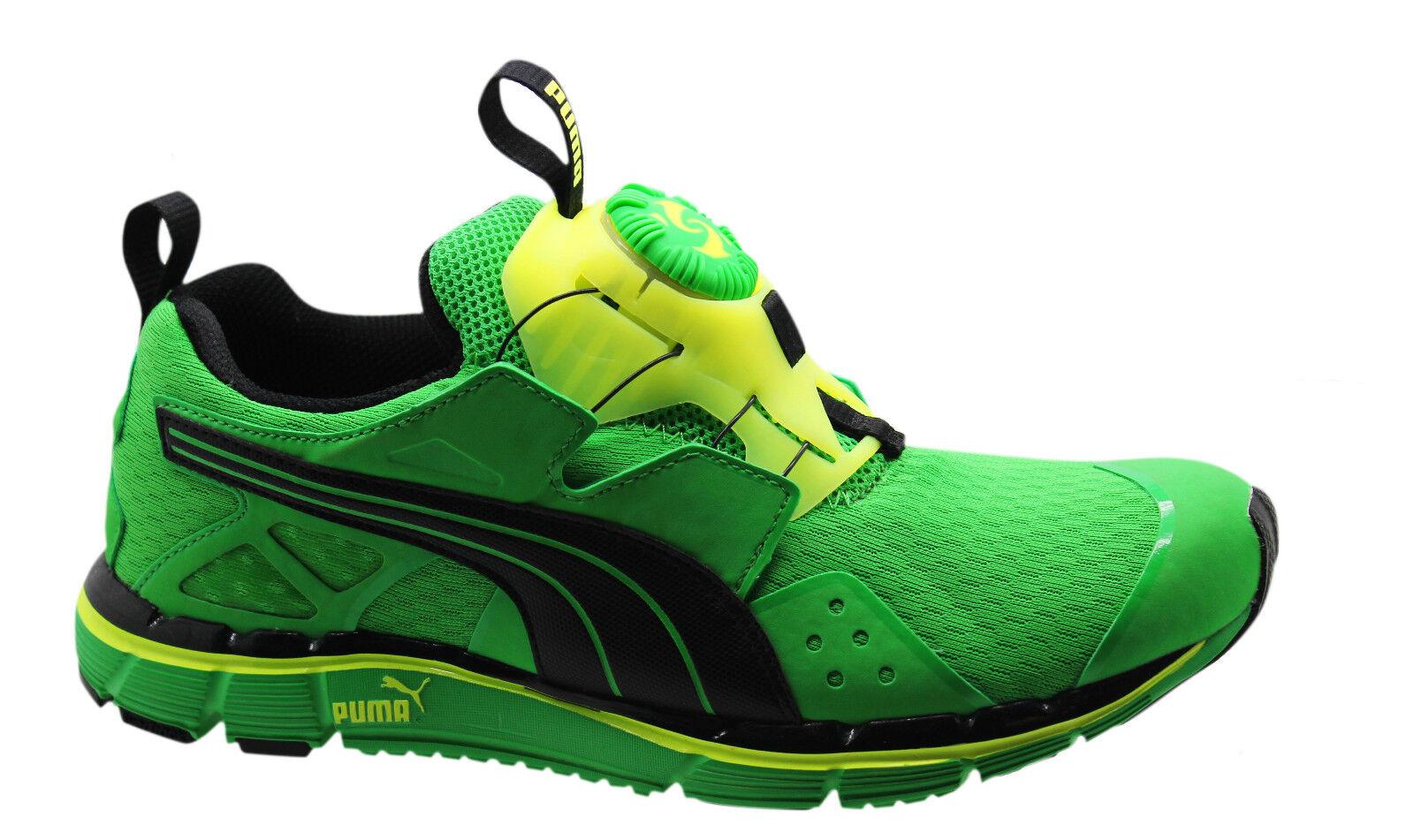Puma Disc Ltwt 2.0 NM Lightweight Mens Trainers Green Slip On 187161 03 P2