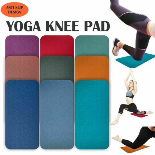 Tappetino Yoga per esercizi da palestra ginnastica fitness Pilates Physio Allenamento spessa Sostegno Pad