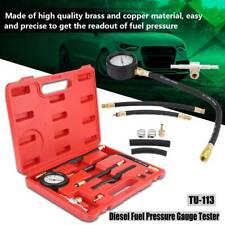 Benzin Drucktester Einspritzanlage Kraftstoffdruckprüfer Werkzeug Satz 0-140PSI