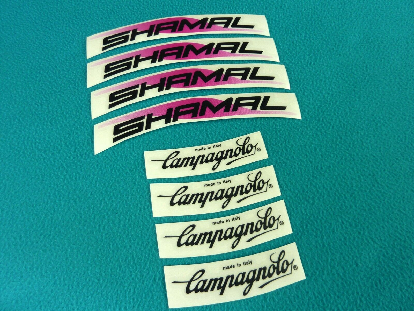 CAMPAGNOLO SHAMAL REPLACEMENT RIM DECAL SET  FOR 2 RIMS