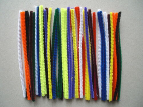 150mm x 4mm Pipe Cleaners Assorted Colours CT4062