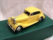 Lansdowne Models LDM 93. 1936  Bentley 4 1/4 lt. Fixed Head Coupe. Yellow. Mint