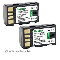 2x Kastar Battery For Jvc Bn-vf808 Gs-td1 Gy-hm70u Gy-hm100u Gy-hm150u Gz-hmz1u