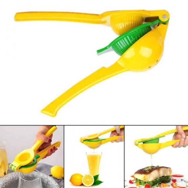 CUTE Manual Lemon Juicer 2 in 1 Best Hand Held Orange Citrus Squeezer Press