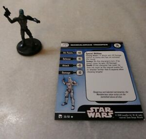 Legacy of the Force ~ SHADOW STORMTROOPER #29 Star Wars miniature