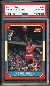 Michael-Jordan-1986-Fleer-Rookie-Basketball-Card-57-PSA-10-VERY-HIGH-END