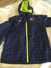 $135 ASICS Mens New York City Marathon NavyBlueShelter Running Track Jacket 2XL