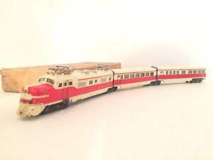 Marklin-H0-railcar-JEU-800-locomotive-electrique-Embalage-d-039-origine