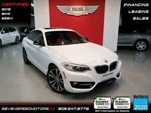 2015 BMW 2 Series RED INT I CERTIFIED I FINANCE