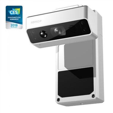 Remo+ DoorCam Wireless Over-The-Door Smart WiFi Security Camera