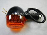 Front Or Rear Black Turn Signal Motorcycle Kawasakit Custom Chopper Pocketbike