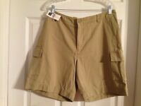 Gap Cargo Shorts Tan Size 14