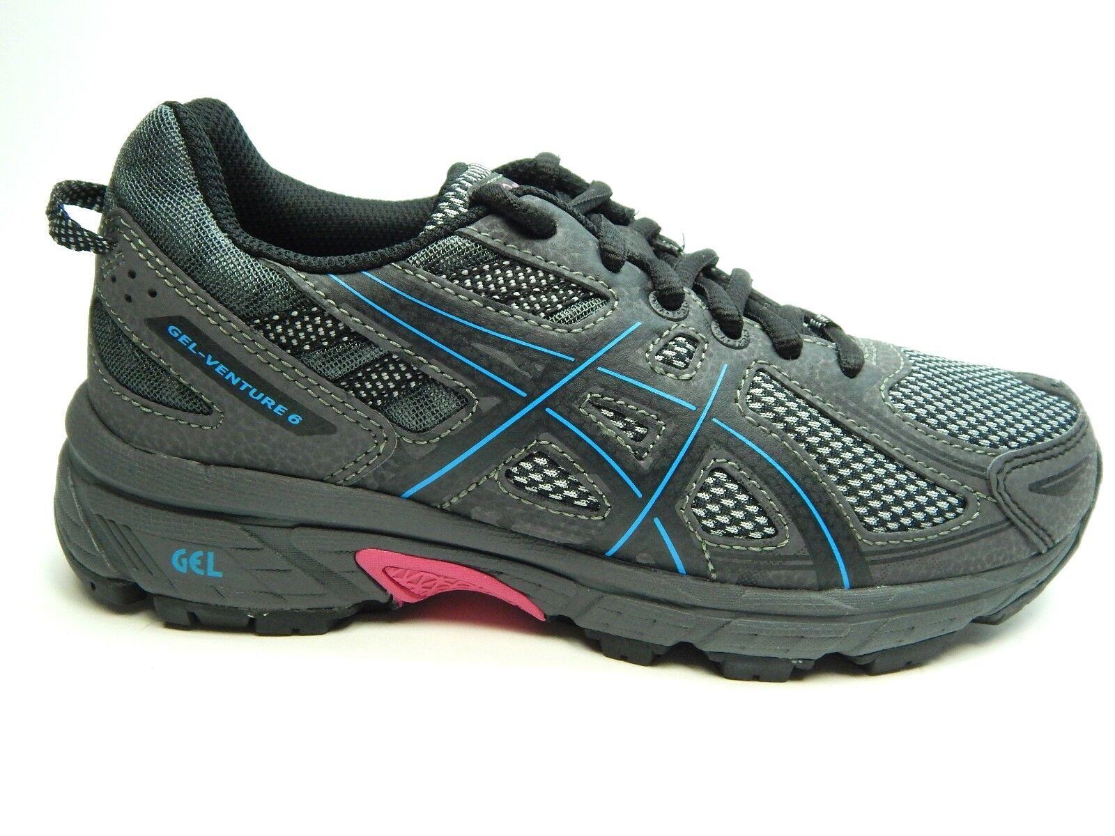 ASICS GEL VENTURE 6 T7G6Q 9041  noir  ISLAND bleu rose femmes Chaussures  SIZE 5 TO 8.5