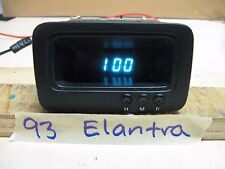 1993 HYUNDAI ELANTRA DASH DIGITAL CLOCK