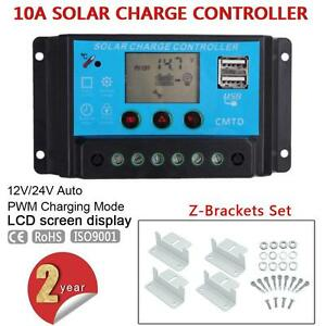 10A-20A-12V-24V-Solar-Laderegler-Solarregler-4pcs-Z-Bracket-for-Solar-Panel-PT
