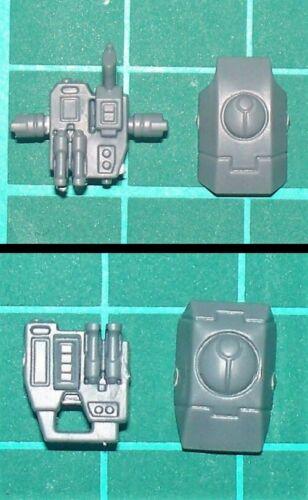 T/'au Empire Fire Warriors Bits//Parts Backpack /& Shoulder Pad 2 variants