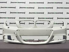 BMW 3 SERIES M SPORT E90 E91 LCI 2009-2012 FRONT BUMPER IN WHITE GENUINE [B498]