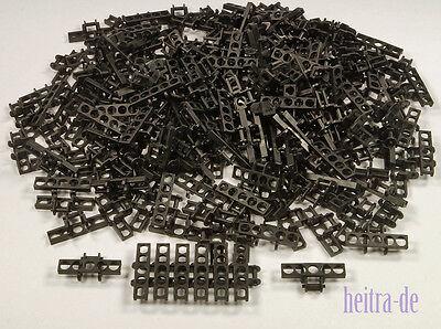 50 breite schwarze Kettenglieder 3873