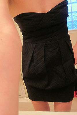 ASOS Dress With Cut Out Back - SIZE 6 NEW black