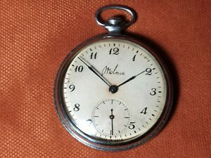 Molnija Slim Vintage Soviet USSR slim watch 18 jewels ChChZ 910363 Serviced