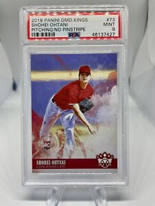2018 Panini Diamond Kings #73 Shohei Ohtani PSA 9 Los Angeles Angels HOF ? RC 🔥