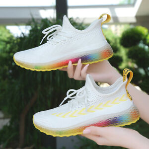 Rainbow Star Lightweight Breathable Casual Sports Shoes Fashion Sneakers Shoes