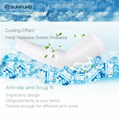 Arm Cooling Sleeves UPF 50 UV Sun Protection Arm Sleeves for Cycling Driving
