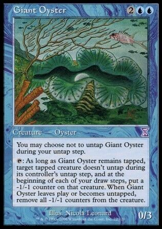 Time Spiral Timeshifted *FOIL NM* MTG 1x GIANT OYSTER