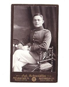 ALSACE-photo-soldat-14-18-Uniforme-allemand